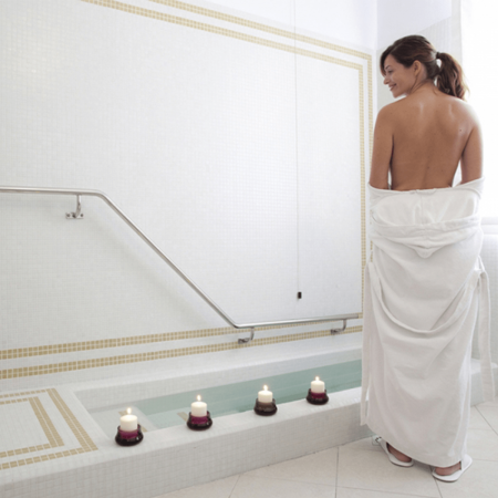 Bagno termale (senza supplemento ozono) | Hotel Terme venezia - Abano Terme