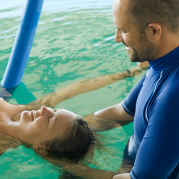 Idrokinesiterapia in acqua termale ad Abano Terme