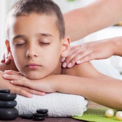 Massaggio per bambini rilassante